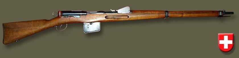 Schmidt-rubin m1889 - вики