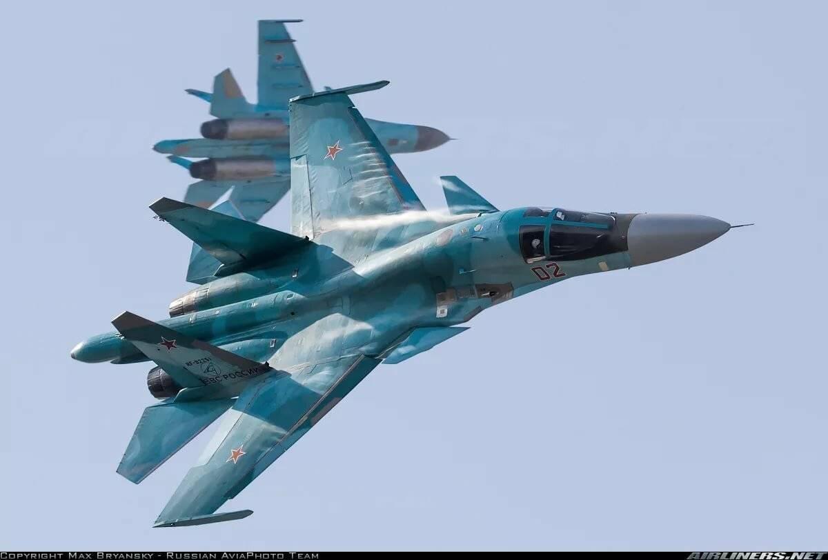 СУ-34 – многофункциональный «Утенок» с ракетами
