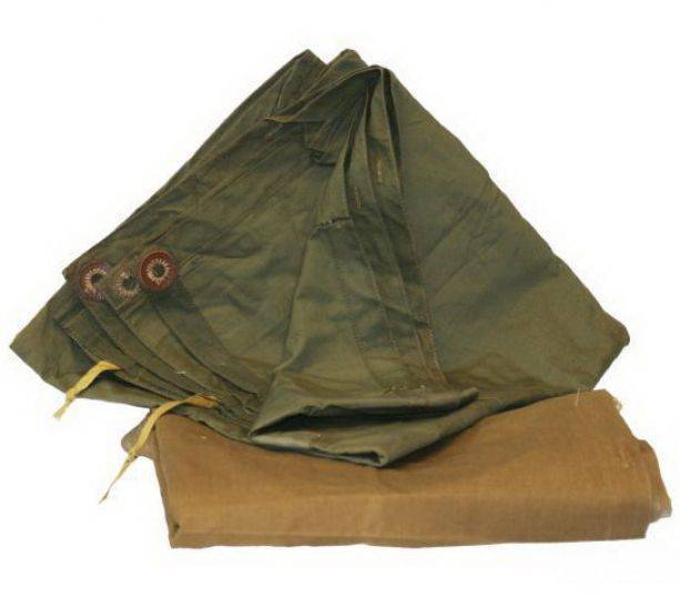 Как использовать плащ-палатку в качестве укрытия