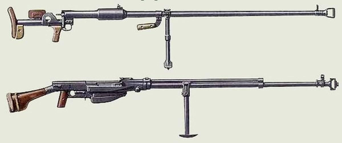 Противотанковые ружья птрд и птрс в цифрах