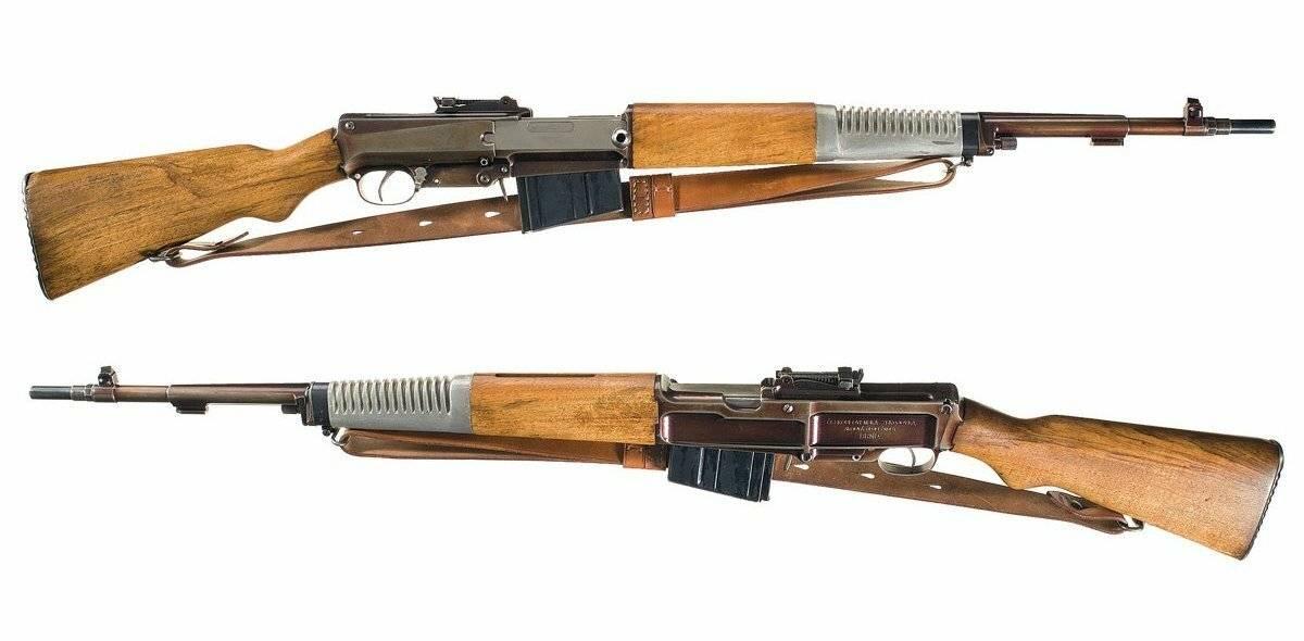 Самозарядная винтовка чукавина