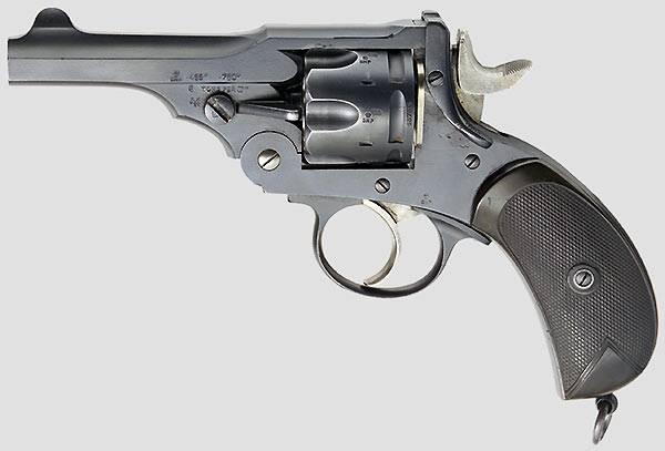 Пистолет webley & scott m1904