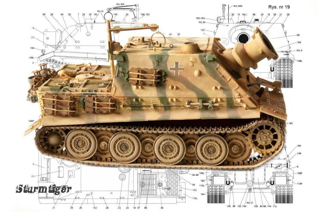 Тигр panzerkampfwagen vi ausf. h1 — первый немецкий тяжелый танк