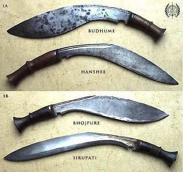 Непальский нож кукри: история легенды