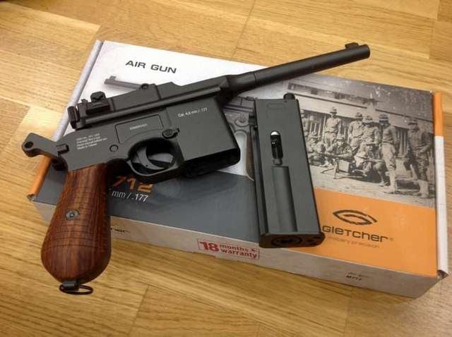 Пистолет mauser m2