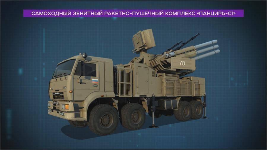 Зенитный ракетно-пушечный комплекс (зрпк) панцирь-с1