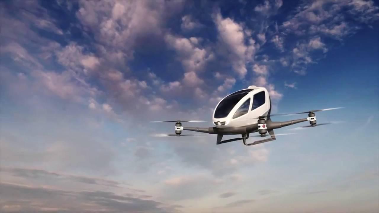 Беспилотный транспорт будущего
