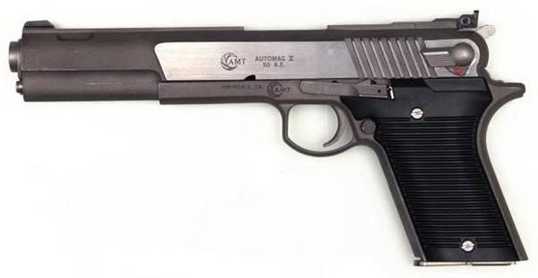 Пистолет auto mag калибр 44 — характеристики, фото