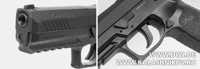 Модульный пистолет sig-sauer p320