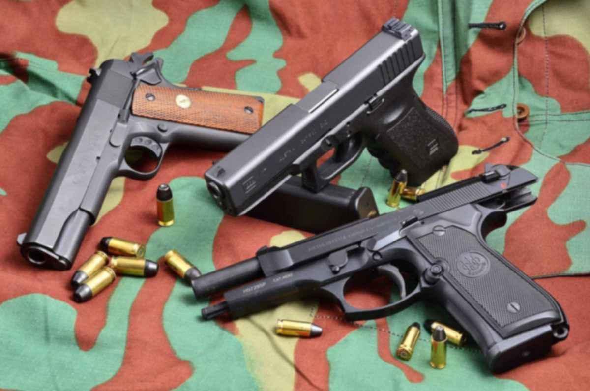 Пистолет Беретта 92