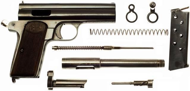 Видео: стрельба из пистолета frommer «stop»