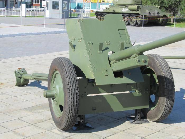 45-мм противотанковая пушка образца 1942 года (м-42) - вики