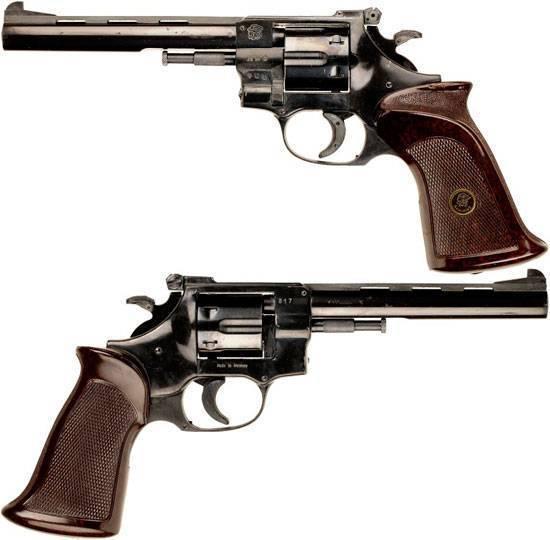 Револьвер arminius hw 3