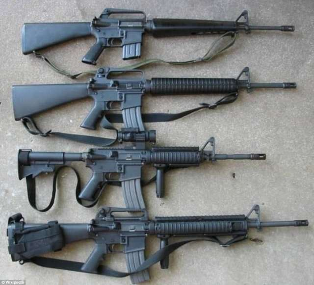 Armalite ar-10 - internet movie firearms database - guns in movies, tv and video games