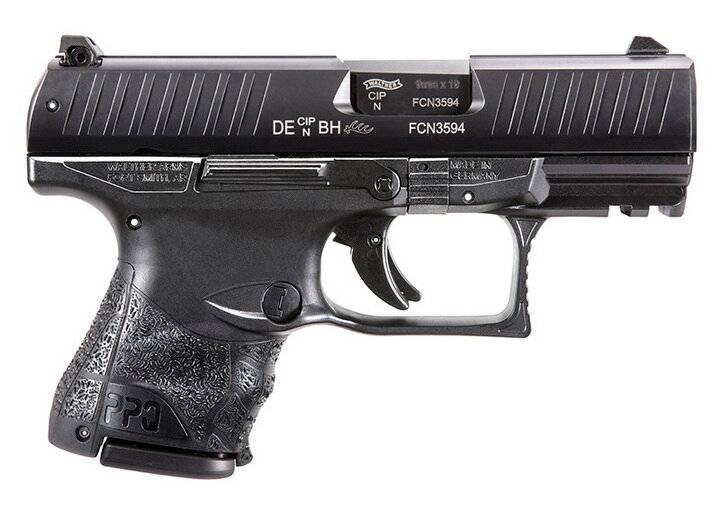 Пистолет walther ppq m2