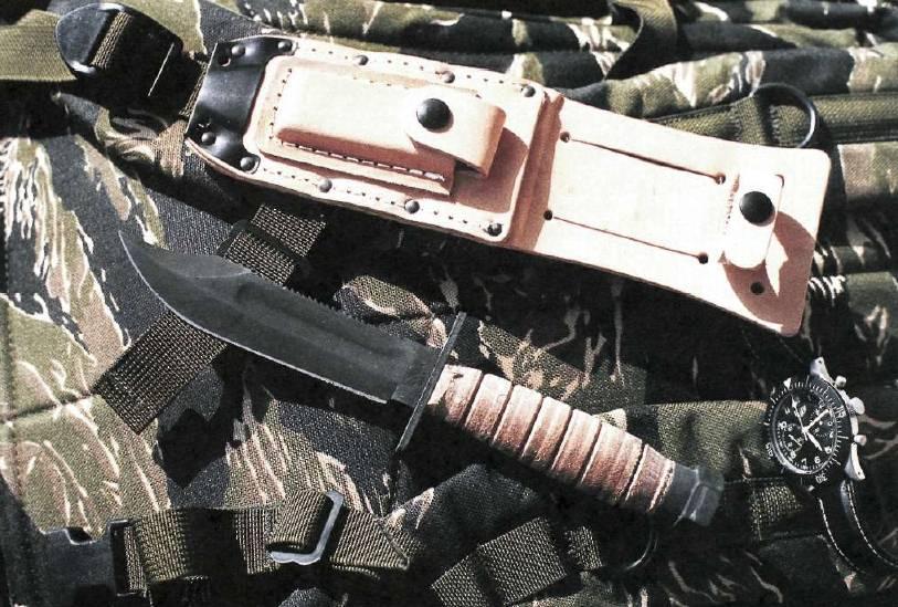 Боевой нож – основа выживания в бою или атавизм