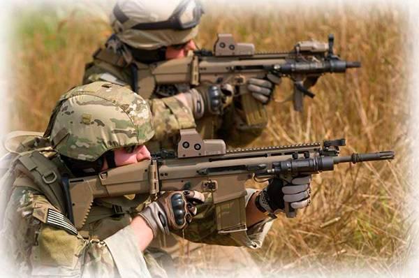 Штурмовая винтовка sa80 a2 (l85a2)