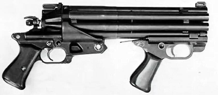 Дробаш с 8-ю стволами – сумасшествие американских оружейников или реально эффективное оружие
