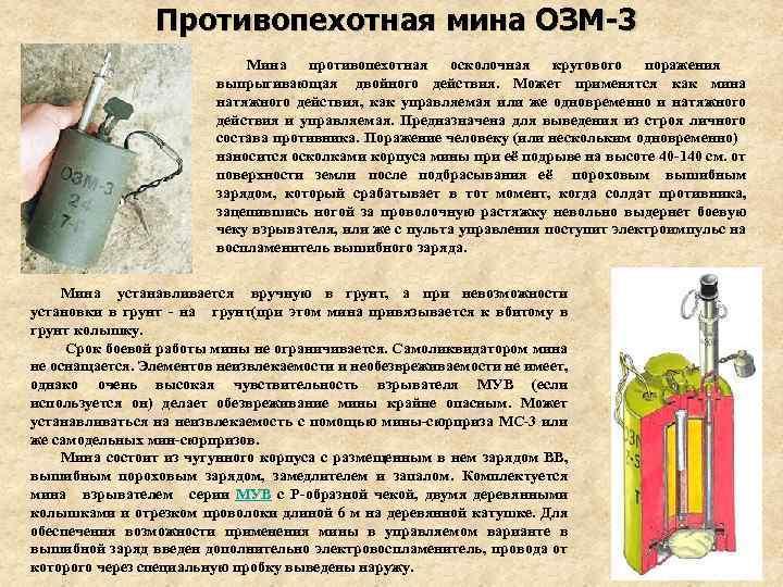 Прыгучая смерть. самые жестокие отечественные противопехотные мины - впк.name