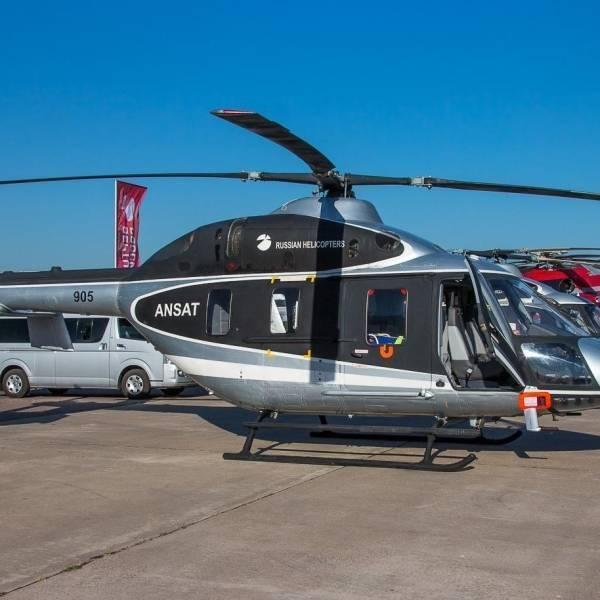 Вертолёт «Ансат» – казанское решение транспортного вопроса