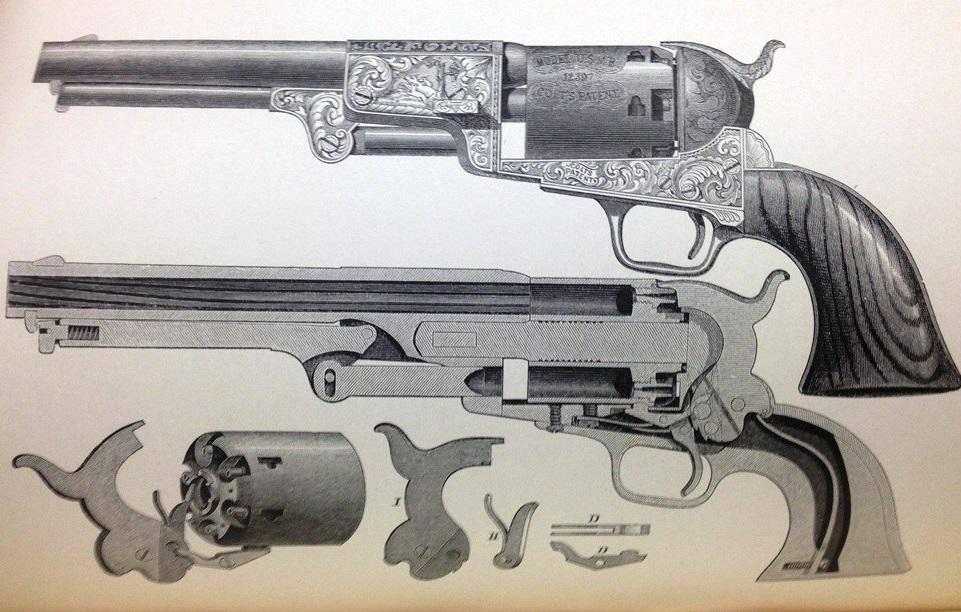 Револьвер кольт миротворец калибр 45. ттх. фото. видео