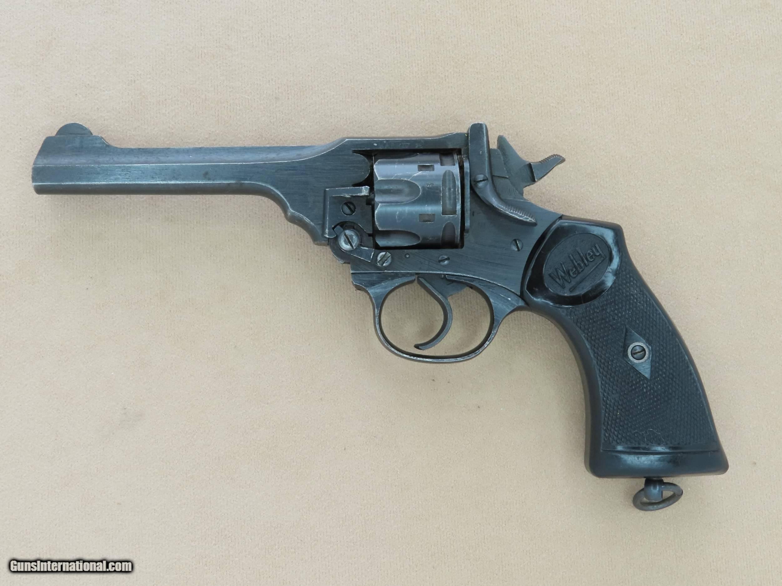 Револьвер webley — википедия (с комментариями)
