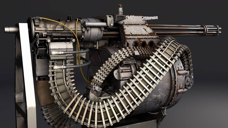 Авиационная пушка M61 Vulcan – второе рождение системы Гатлинга