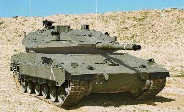 Основной боевой танк merkava (израиль)