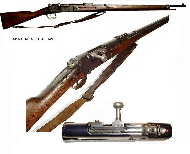 Lebel m1886 — википедия. что такое lebel m1886