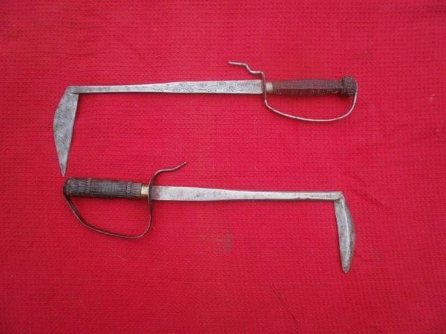 Боевая коса | оружие | багира гуру
