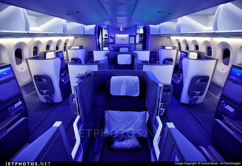 Схема салона самолета боинг 787 900 дримлайнер
