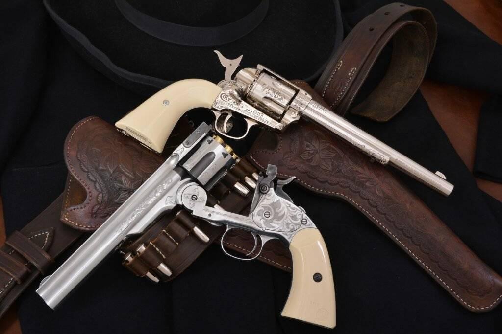 Револьвер кольта. как появился colt