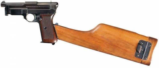 Пистолет маузер м 1910 википедия
