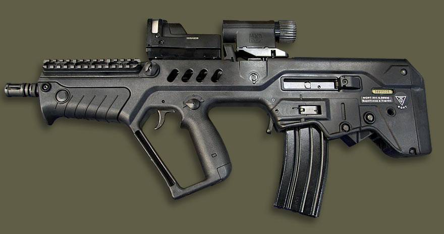 Штурмовая винтовка Форт-221 и Форт-224