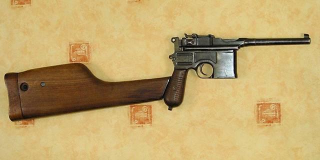 Винтовка mauser model 1893 производство испании