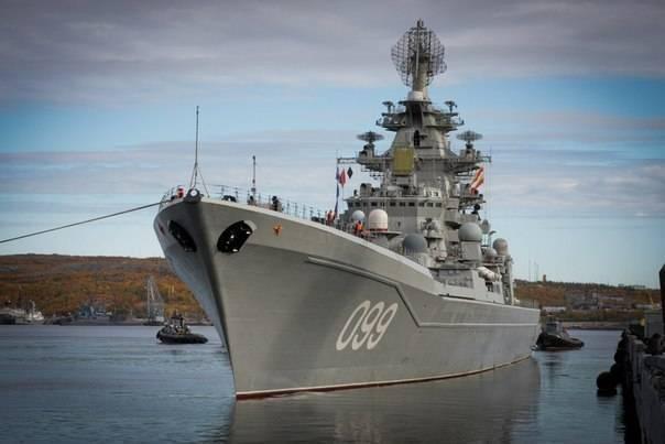 Крейсер «петр великий» проект 1144 «орлан» флагман северного флота