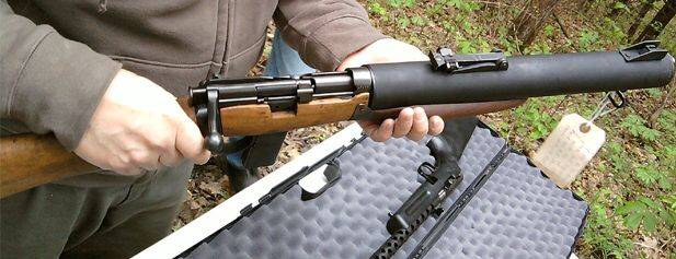 De lisle commando carbine — характеристики, фото, ттх