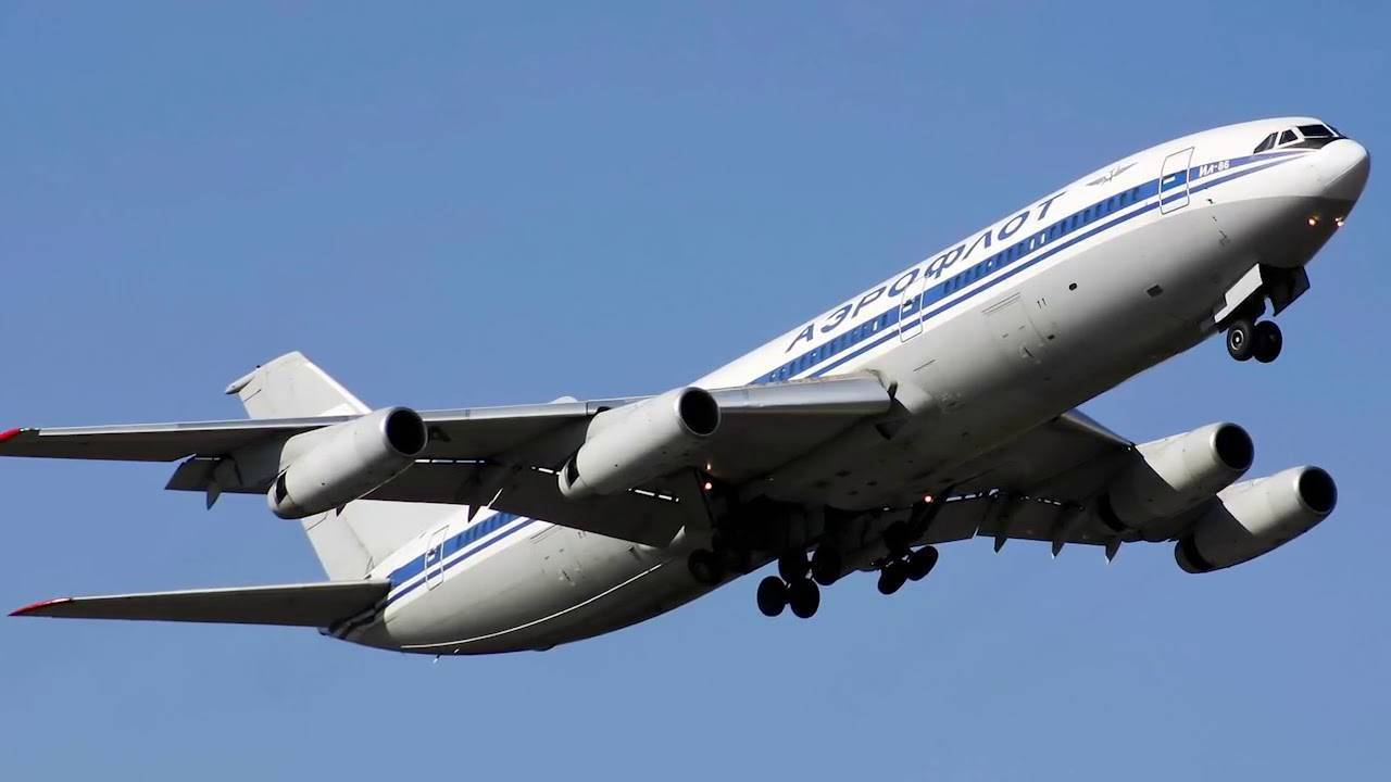 Обзор широкофюзеляжного пассажирского самолета Ил-86