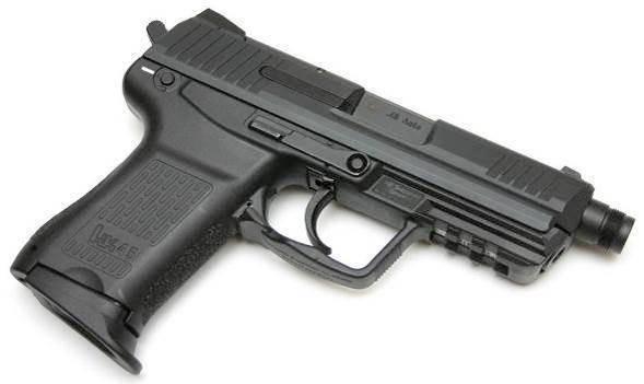 Hk usp пистолет heckler und koch — характеристики, фото, ттх