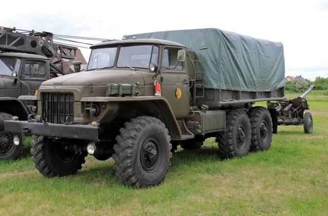 Урал-375д — википедия