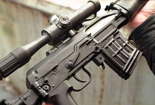 Снайперская подготовка  винтовка свд.