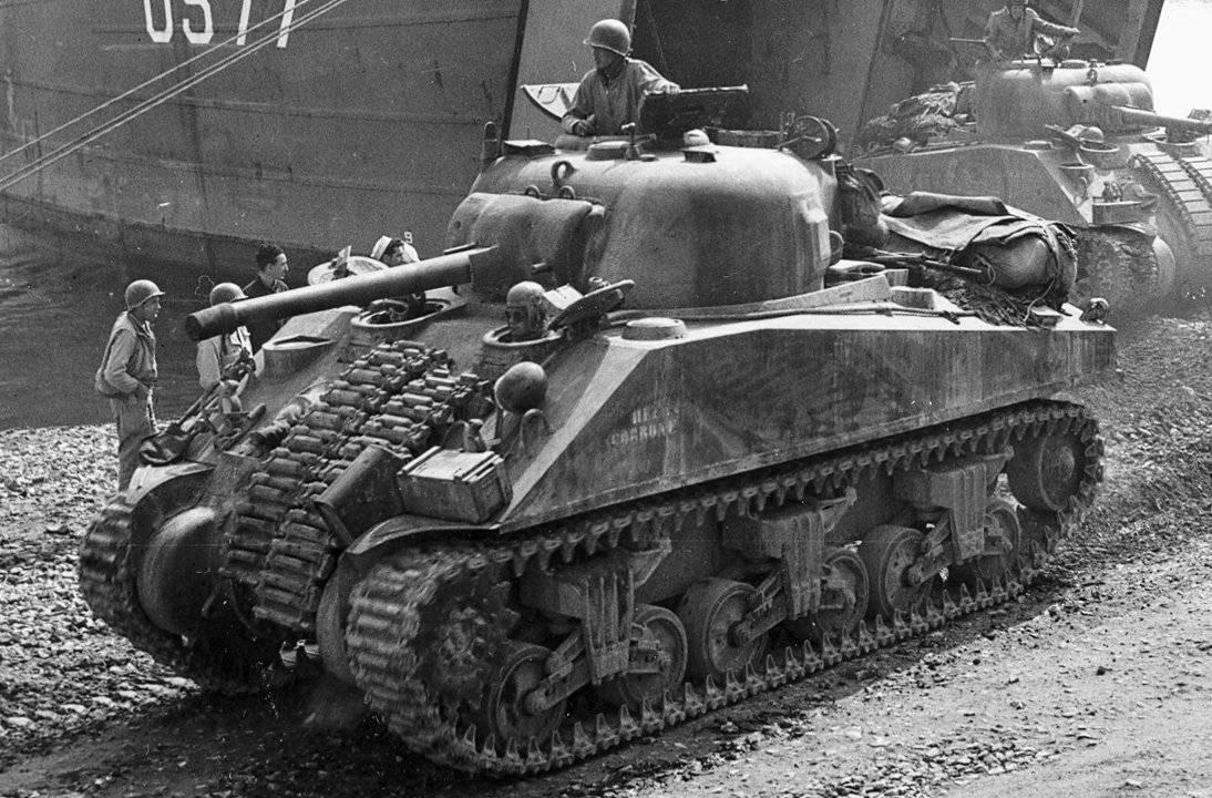 M4 «шерман»  | военный альбом