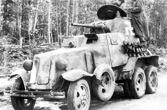 Тяжелый пушечный бронеавтомобиль ба-11