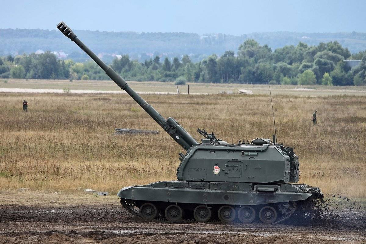 Самоходная дивизионная гаубица 2с19 «мста-с»