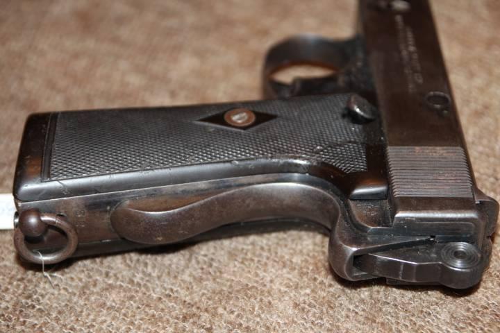 Пистолет webley & scott m1907