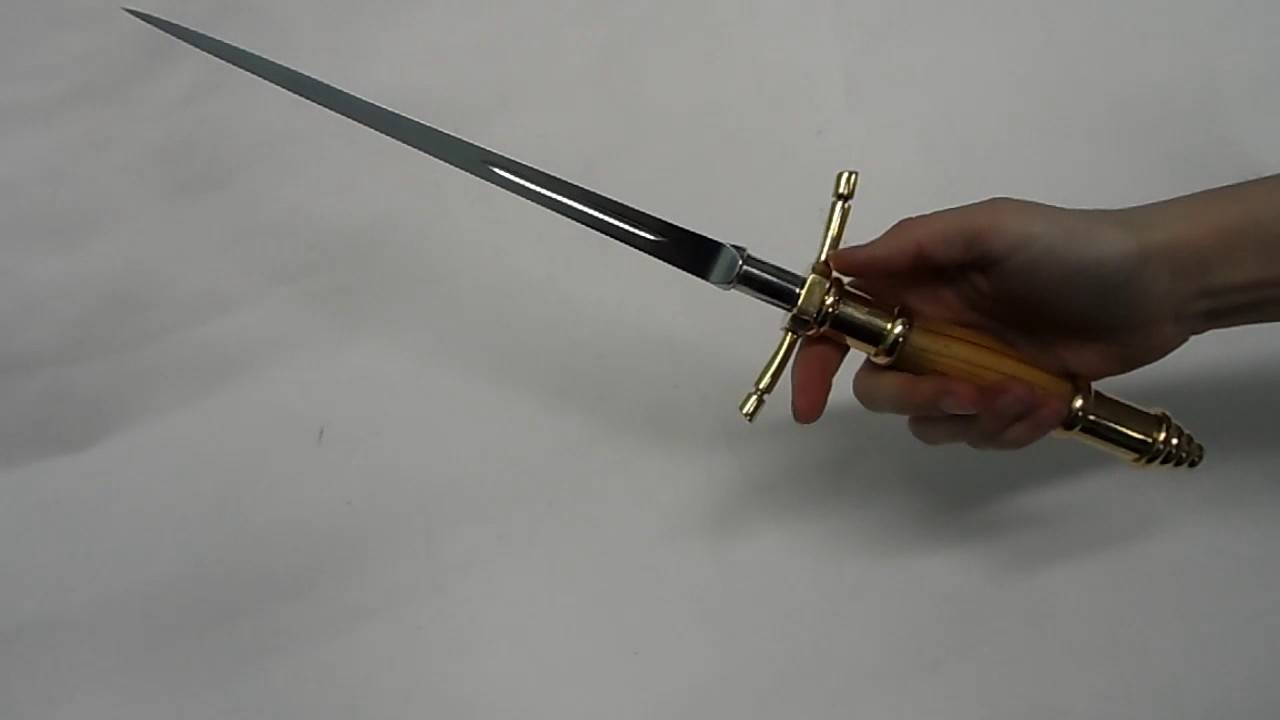 Кинжал-стилет – оружие убийцы или последний аргумент в бою