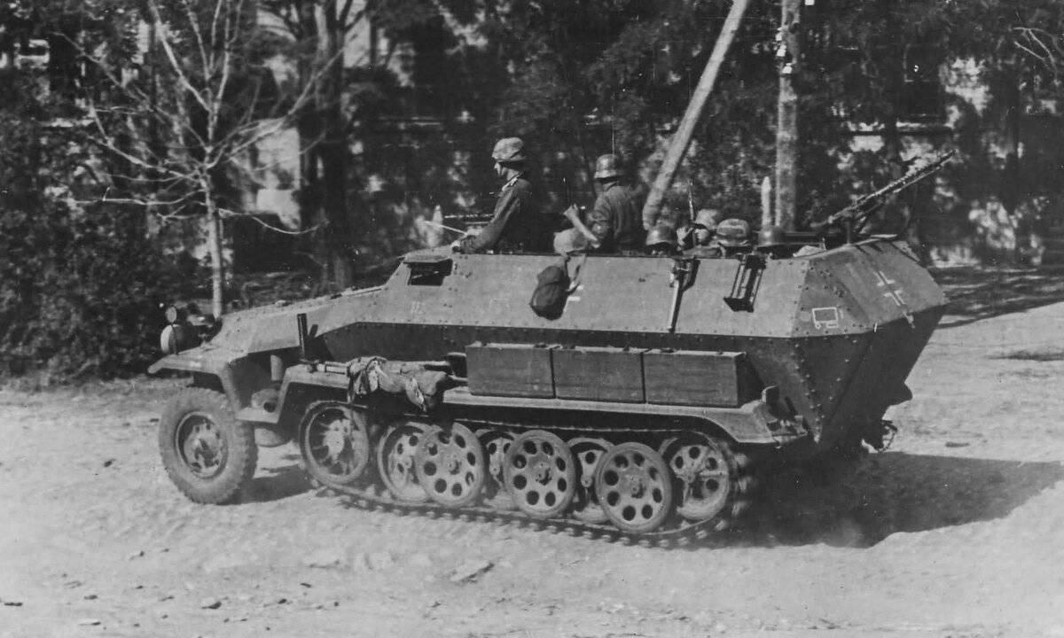 Sd.Kfz.251 – опора пехоты Вермахта