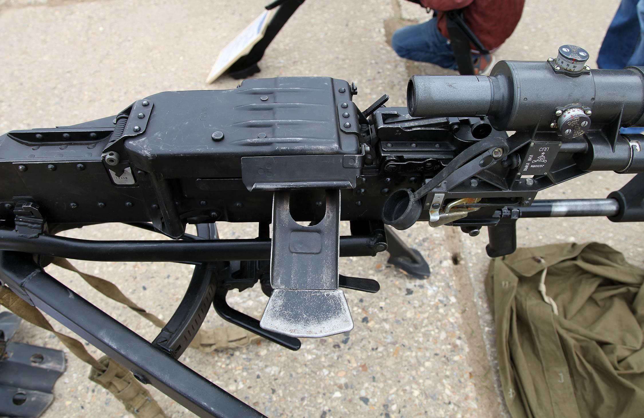 Крупнокалиберный пулемет корд патрон калибр 12,7 мм