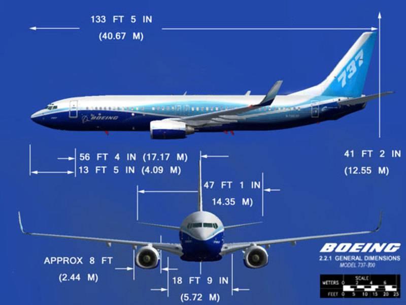 Технические характеристики боинга 737