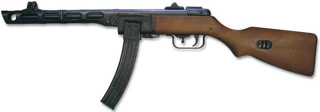 Другой ппш. пистолет-пулемет системы шпагина: барабанная дробь красной армии состав механизма устранения отстрелянных гильз